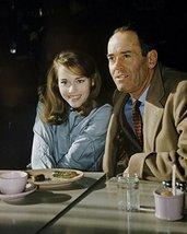 Henry Fonda and Jane Fonda candid 1960's at restaurant - $69.99
