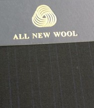8 Yards Super 120'S Italian Fine Lightweight Wool Worsted Suit Fabric - $92.95