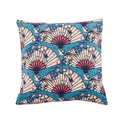 DRAGON SONIC Japanese Style Decorative Cushion Covers Throw Pillow Floor Pillow