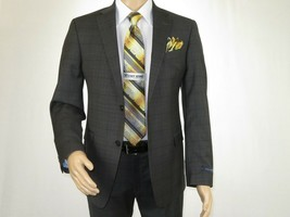 Mens TOMMY HILFIGER Suit Wool Blend 2 Button Side Vent Shark Texture 012... - $220.00