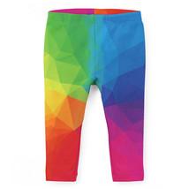 Rainbow Geometric Shapes Kids Leggings - $37.99+