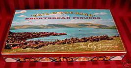 SCOTLAND Scotchish SHORTBREAD Cookies Tin CITY BAKERIES Vintage Souvenir... - $14.95