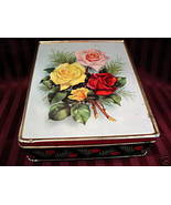 Vintage McVITIE and PRICE Biscuit Tin Cookie Tin THE ROSES Collectible F... - $19.95
