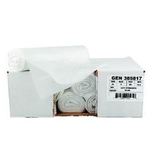 Can Liners - 2 mil - 38w x 38d x 58h - Black - 100/case -- 55-60 Gallon ... - $71.85