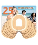 Fixic - 25 Pack - Adhesive Patches - Best for Omnipod - Best Waterproof ... - $18.19