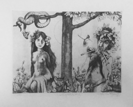 """Charles Bragg """"The Eighth Day"""" - S/N Etching - Retail $1K - COA - See Live - $250.00"""