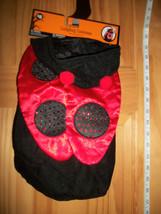 Pet Holiday Dog Costume Medium Ladybug Halloween Outfit Bug Canine Animal Hoodie - $7.59