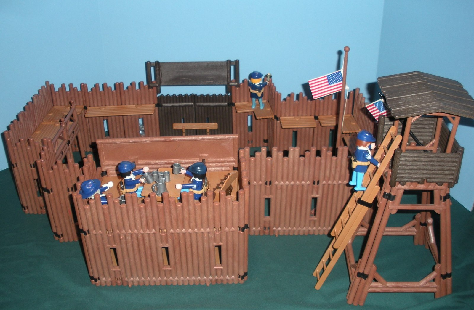 playmobil fort brave instructions