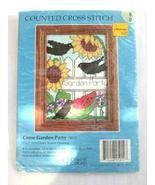"""Crow Garden Party"" Counted Cross-Stitch Kit by Candamar Designs, New in... - $8.75"