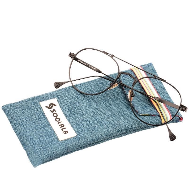 d4b2ac9ca56b 57. 57. Previous. Reading Glasses Men Round Metal Frame Women Reader Glasses  Circle Clear Lenses