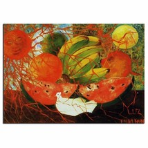 """Frida Kahlo """"Fruit of life,1953"""" HD print on canvas large wall picture 3... - $27.71"""