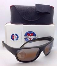 Nuevo Vuarnet Gafas de Sol Vl 1402 0003 Oscuro Green-Khaki Marco W/ Marrón SX