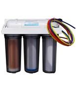 4 stage RO/DI water filter 100 GPD reverse osmosis RO DI for reef aquariums - $164.99