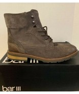 Bar III Men's Whitaker  Suede Lace Up Boots 10 M - $84.14