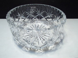 Large Cut Crystal Center Bowl ~~~ - $7.99