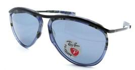 Ray-Ban Sunglasses RB 2219 1288/02 59-13-140 Olympian Blue Havana/Blue P... - $131.32