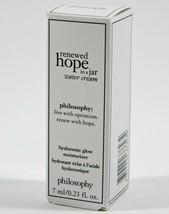 Philosophy Renewed Hope in a Jar Hyaluronic Glow Moisturizer 0.23oz/7ml ... - $5.90