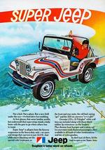 1973 Super Jeep - Promotional Advertising Poster - $9.99+