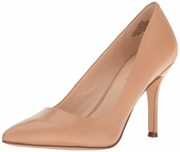 NINE WEST WOMEN'S FLAX NEW HOLLYWOOD DRESS PUMP LIGHT NATURAL 6 M US - €57,73 EUR