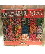 Puzzlebug 500 Piece Puzzle Jelly Sweets and Gummies Family Fun - $9.88