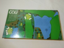 Vintage 1972 Thinking Man's Golf Board Game 3M Sports Complete  - £20.71 GBP
