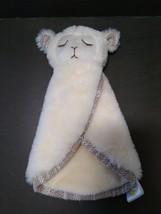Animal Adventure Baby Soft Cream Lamb Sheep Clutch Blanket Security Love... - $39.11
