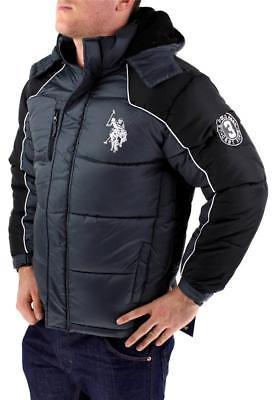 New US Polo Assn Juniors Boys Kids Premium Athletic Sport Puffer Jacket Size 8
