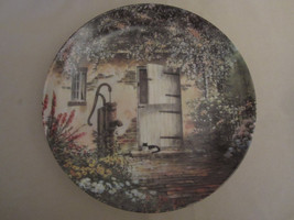 THE OLD HAND PUMP collector plate MAURICE HARVEY Country Nostalgia - $28.06
