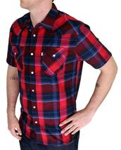 BRAND NEW LEVI'S MEN'S CLASSIC COTTON CASUAL BUTTON UP PLAID SHIRT 3LYSW6062-RED image 3