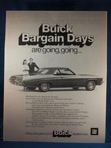 Vintage Revue Annonce Imprimé Design Publicité Buick - $12.82