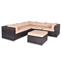 Hulaloveshop 6 pcs Outdoor Rattan Wicker Furniture Set - $989.95