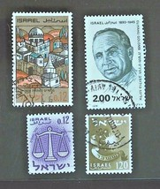 Israel Stamps-Collection Set of 4 Free Shipping- #3105   - $1.68