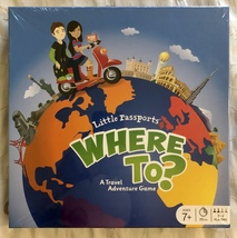Little Passports Where to? Travel Adventure Board Game - $24.95