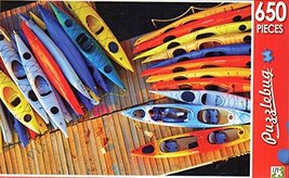 Kayaks on the Dock - Puzzlebug - 650 Pieces Jigsaw Puzzle - $19.98