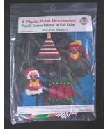 Needlemagic Plastic Canvas Needlepoint Kit Ornaments Pre-Cut Shapes #206... - $9.95