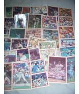 Lot Of 34 1986 Sportsflics Baseball Cards (Ripken-Bo-Canseco-Henderson) EXC - $10.00