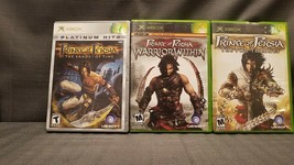 Lot of 3x Xbox Games Prince of Persia Sands Time Warrior Within Two Thrones - $14.46