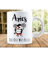 Aries Gift, Aries Mug, Aries Zodiac Cup, Aries Astrology Mug, Aries Birt... - $12.95+