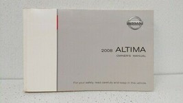 2008 Nissan Altima Owners Manual 74738 - $34.13