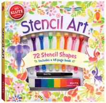 Stencil Art Book Kit- - $30.76