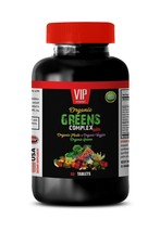 digestive health supplement - ORGANIC GREENS COMPLEX - natural weight loss 1B - $14.92