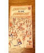 Skating is for Everyone booklet Illustrated Instructions, Safety & Care - $12.86