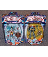 Vintage 1999 Marvel Avengers Ant Man & The Wasp Figures New In The Packages - $59.99