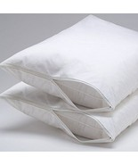 Hypoallergenic Bed Bug & Dust Mite Pillow Protector Zipper Encasement (S... - $9.89+