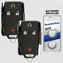 2 For 2011 2012 2013 2014 GMC Savana Sierra Yukon 1500 2500 Remote Key Fob - $25.41