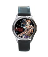 New Hot Black Lagoon Revy Gun Manga Anime Leather Watch wristwatch Gift - $12.00