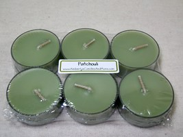 Patchouli Musk PURE SOY Tea Lights (Set of 6) - $5.00