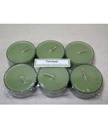 Patchouli Musk PURE SOY Tea Lights (Set of 6) - $5.00