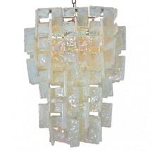 Italian Murano glass C-Link chandelier - $2,700.00