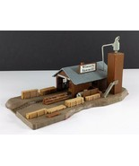 AHM Pola Lumber Mill Winter's Sawmill Vintage HO Scale Building Built - $69.29